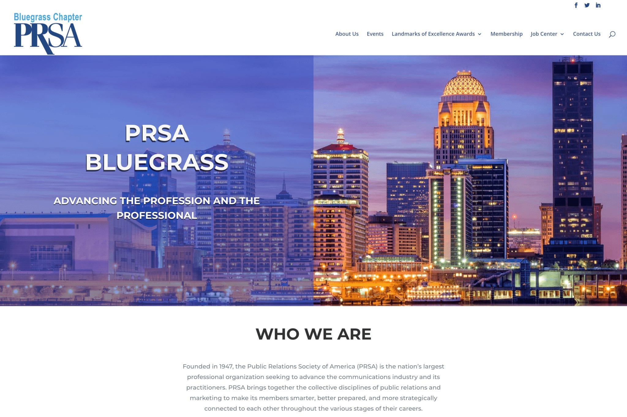 Bluegrass PRSA