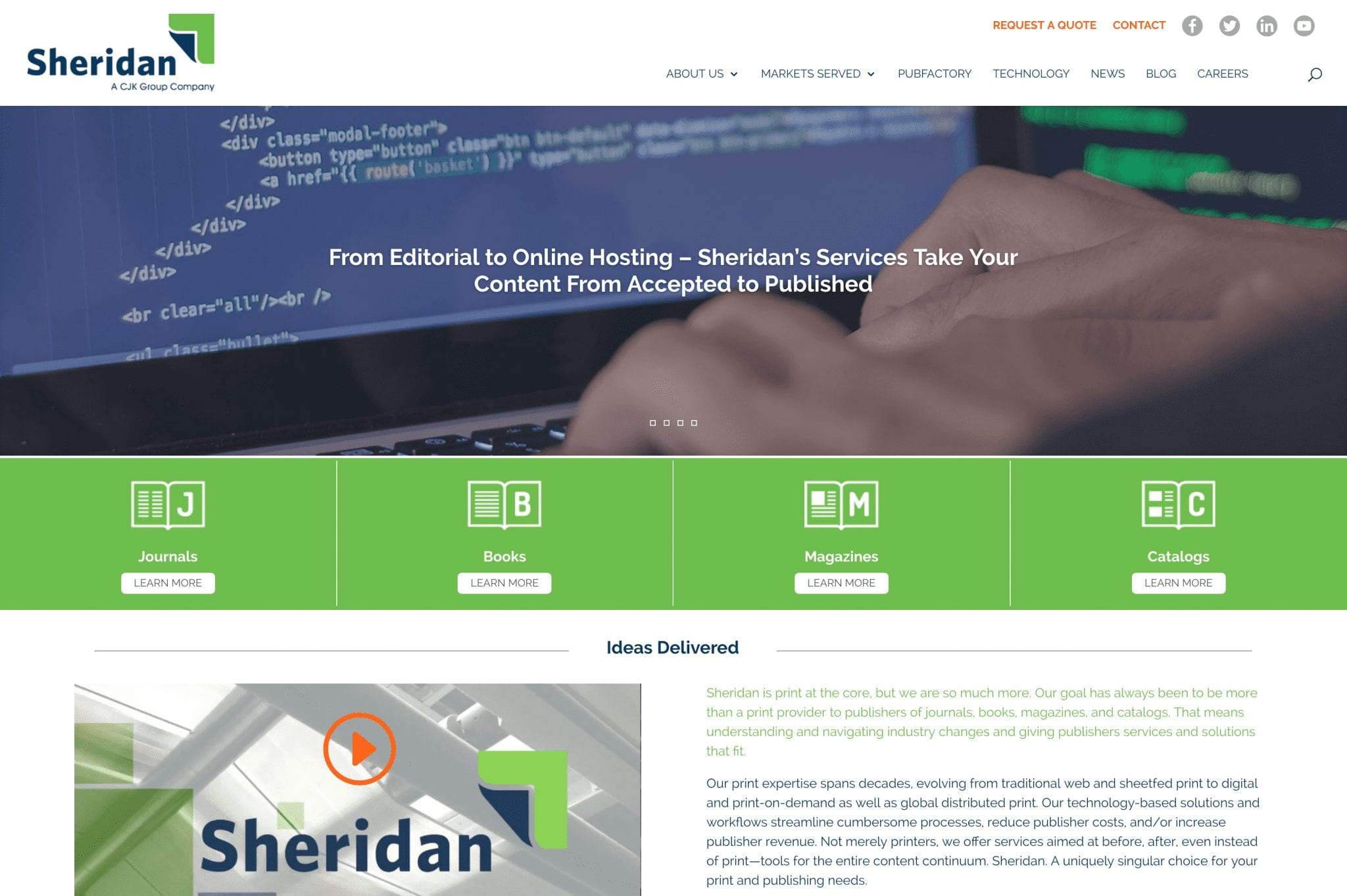 Sheridan.com